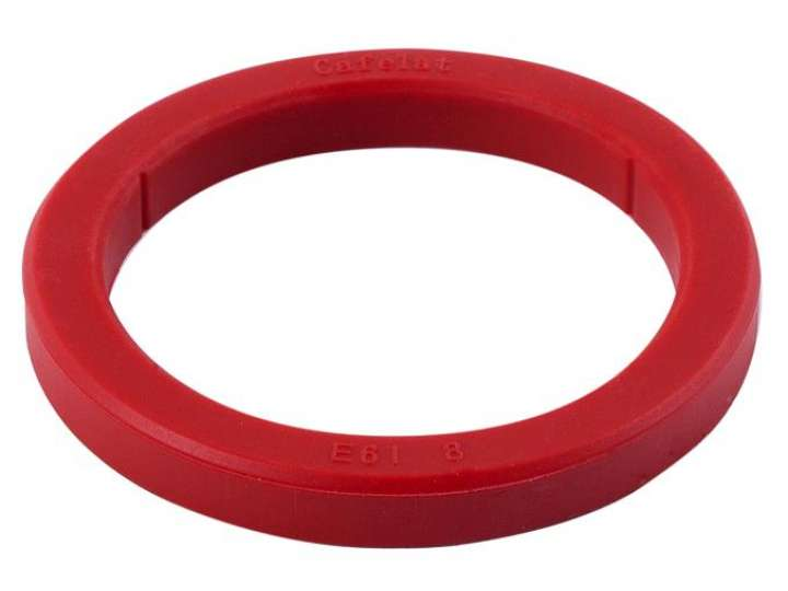RED SILICON GROUP HEAD GASKET 73X57X8MM