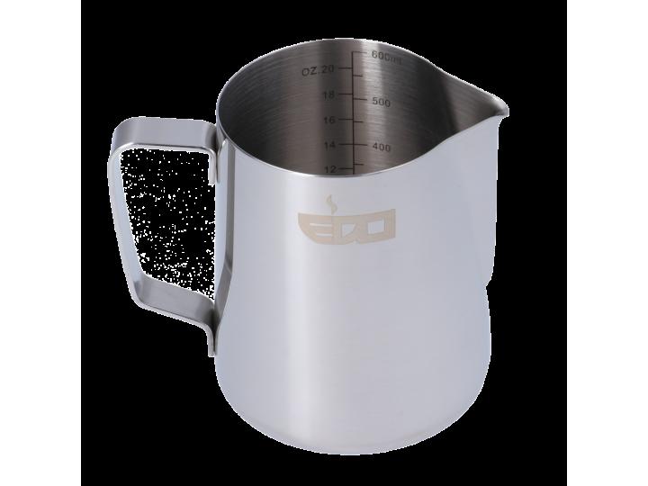 EDO BARISTA LINED STAINLESS STEEL MILK  PITCHER - 600 ml/20 oz