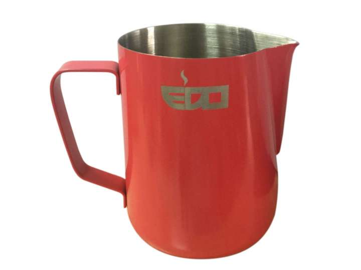 600ml CORAL RED MILK PITCHER