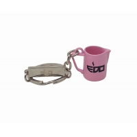 EDO MILK PITCHER PINK KEYCHAIN
