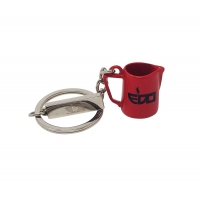 EDO MILK PITCHER RED KEYCHAIN