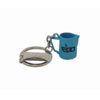 EDO MILK PITCHER TIFFANY BLUE KEYCHAIN