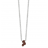 COFFEE BEAN BROWN NACKLACE