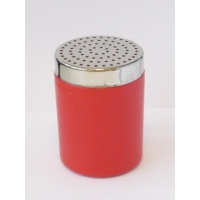 RED COCOA SHAKER WITH BIG HOLES