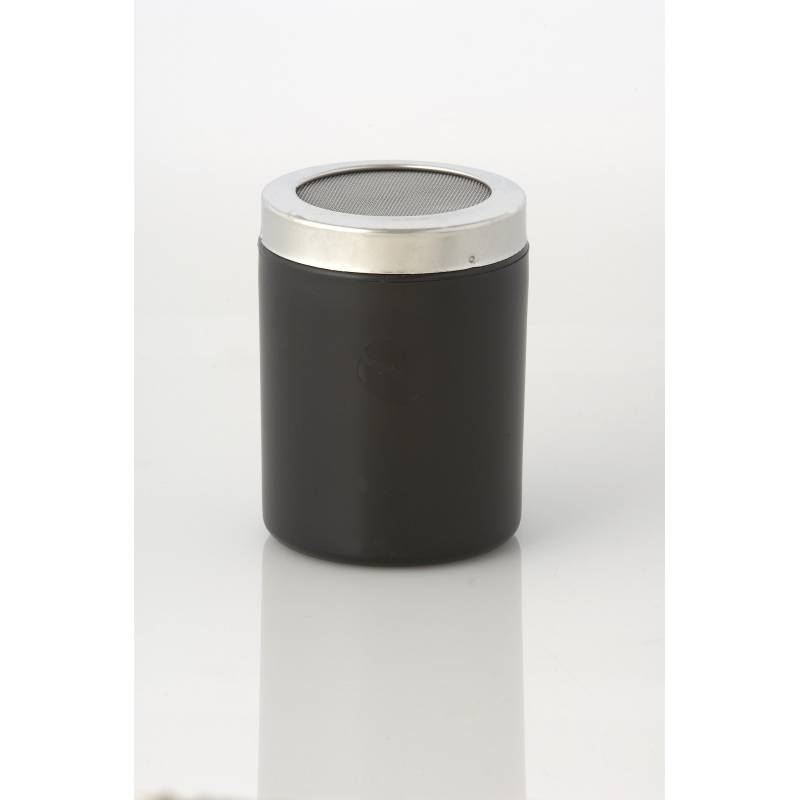 BLACK COCOA SHAKER WITH SMALL HOLES