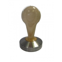COMPETIZIONE' TAMPER IN MAPLE WOOD AND STAINLESS STEEL - 57,5mm