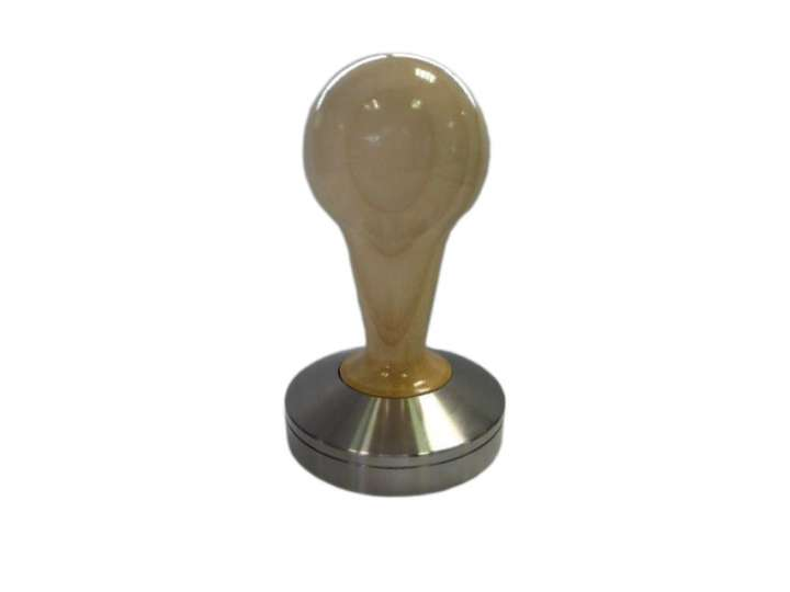 COMPETIZIONE' TAMPER IN MAPLE WOOD AND STAINLESS STEEL - 58,5mm