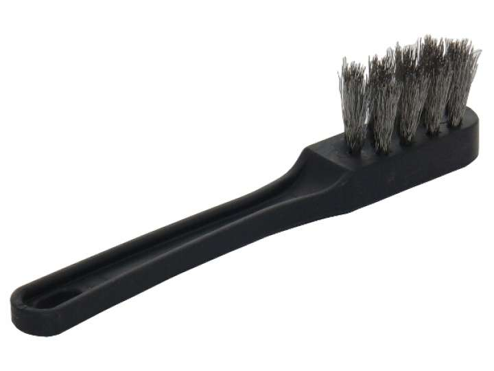 STAINLESS BRUSH FOR THE SHOWER GROUP CLEANING