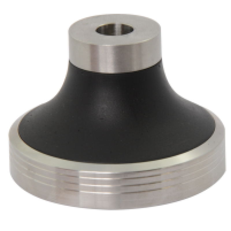 Tamper Base 316 in stainless steel 58.30mm with Flat profile for E61 baskets